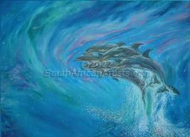 """Flight of the dolphins"""