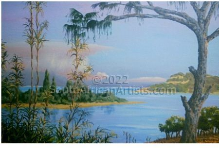 """Newmouth Richards Bay With Causerina Tree"""