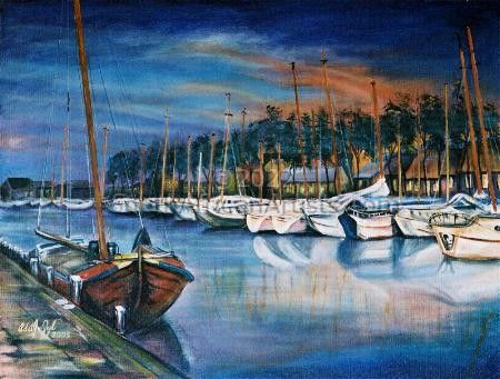 """Sunrise at the Harbour"""