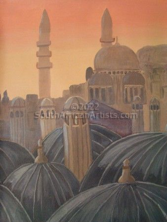 """Mosque at Dawn"""
