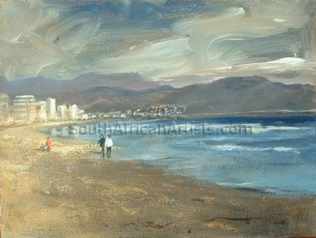 """Winter's Afternoon, The Strand"""