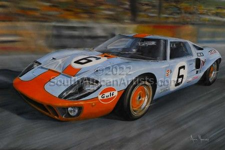 """1969 Ford GT40 Le Mans Winner Jackie Ickx"""