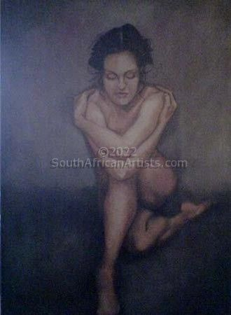 """Solitary Nude"""
