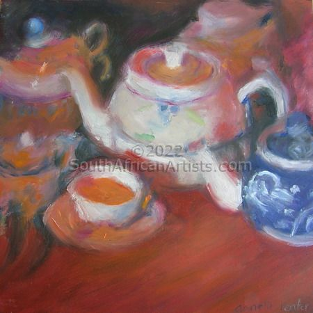 """Magdaleen's Teapot Collection 1"""