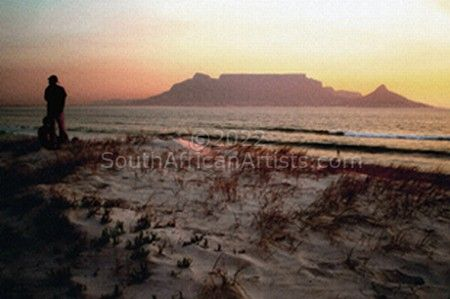 """Table Mountain Sunset"""