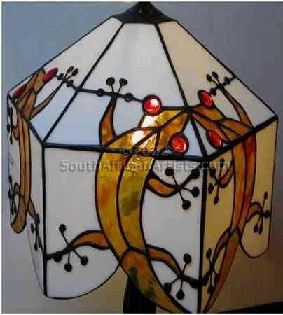 """Gecko Lampshade"""