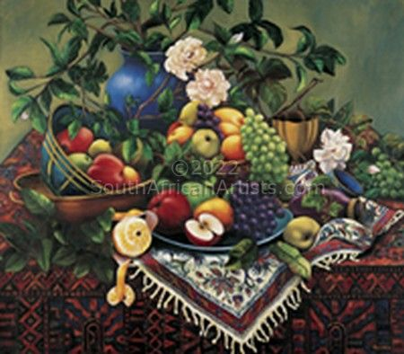 """Baroque, Fruit & Persian"""