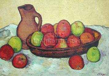 """Still Life with Apples"""