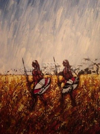 """Maasai Warriors"""