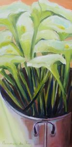"""Arum Lily Stems"""