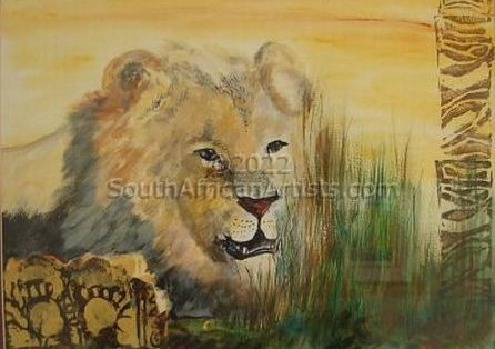 """African Lion"""