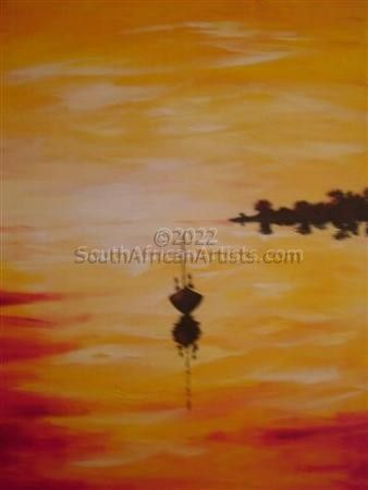 """Tranquil Sunset"""