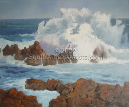 """The Rock, Kleinmond"""