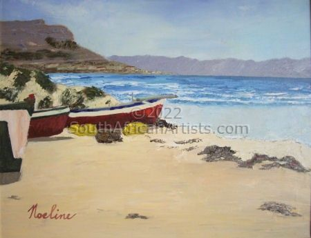 """Fish Hoek Beach"""