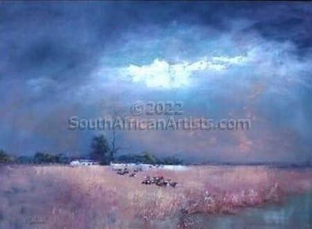 """Free State Dust Storm"""