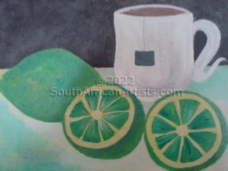"""Teacup And Lemon"""