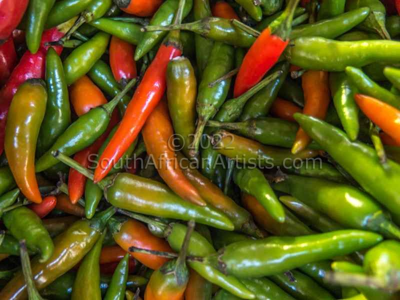 """Fresh chilli peppers"""