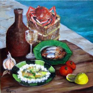 """Still Life with Crab"""