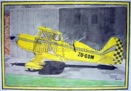"""Starduster Too SA300 Yellow ZU-GDM"""