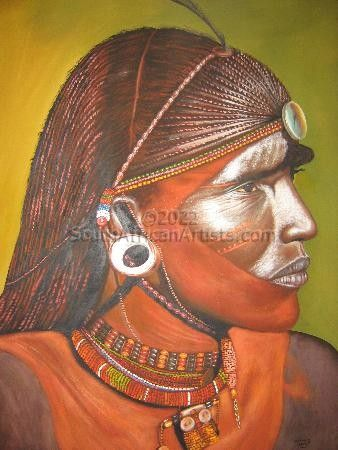 """Maasai Warrior"""