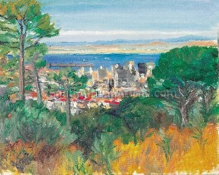 """Table Bay from Kloof Nek, Cape Town"""