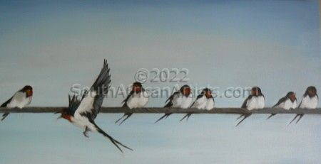 """Swallows on a Wire"""