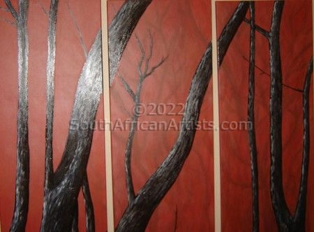 """Red Trees 1"""