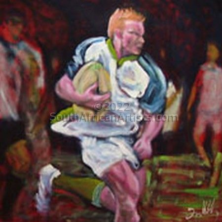 """Rugby #3 - Breaking Expression"""