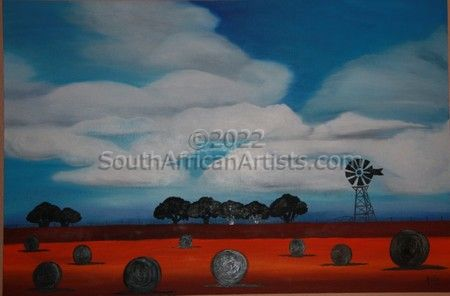 """Cloudy Freestate landscape"""