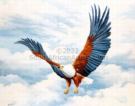 """Returning Home - Fish Eagle"""