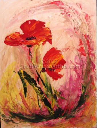 """Playful Poppies"""