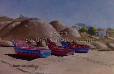 """Paternoster Boats"""