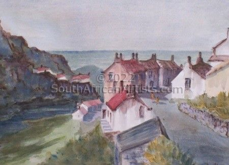 """Staithes Harbour"""