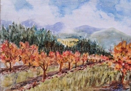 """Persimmon Orchard"""