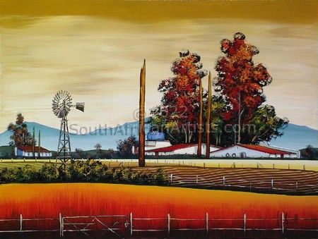 """Family Farm in Harvest Time III"""