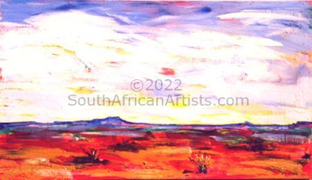 """Namibian Vista / Space as Far as the I Can See"""