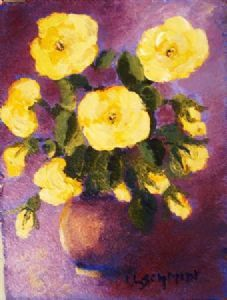 """Yellow Roses 2"""