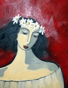 """girl with daisy chain"""