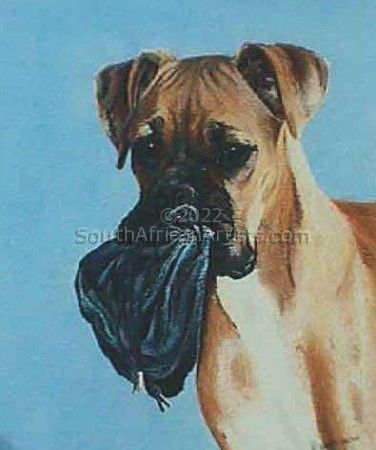 """Dog With Tobacco Pouch"""