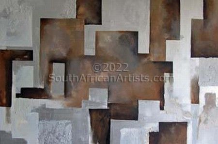 """Silver Abstract"""