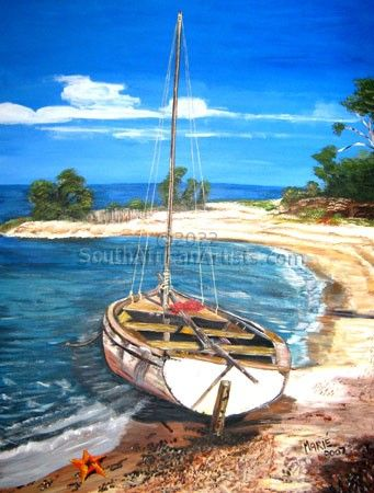 """Boat in Mozambique"""