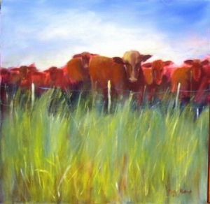 """red cattle"""