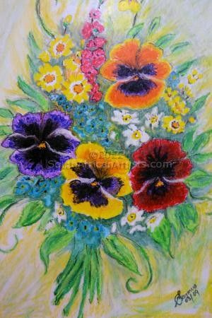 """Pansies for My Mother"""