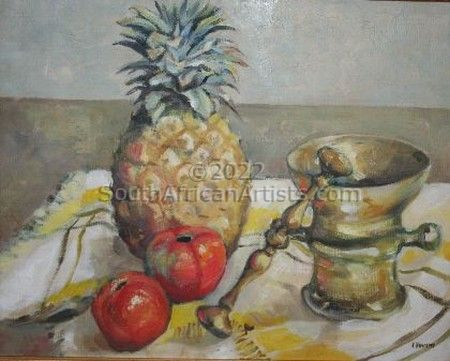 """Still Life With Pineapple"""