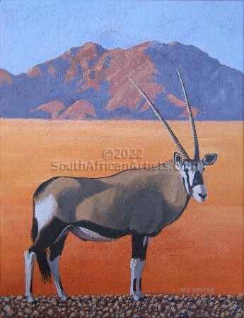 """Oryx - Late Afternoon """