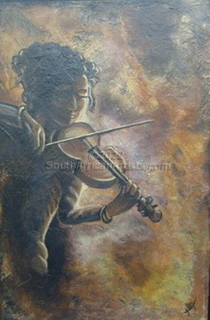 """The Violinist"""