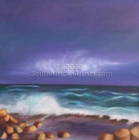"""Storm at Cape Point"""