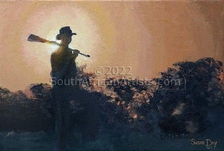 """Hunter - South African Sunset"""