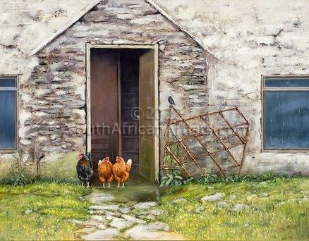 """Hens of the Crofter's Cottage"""