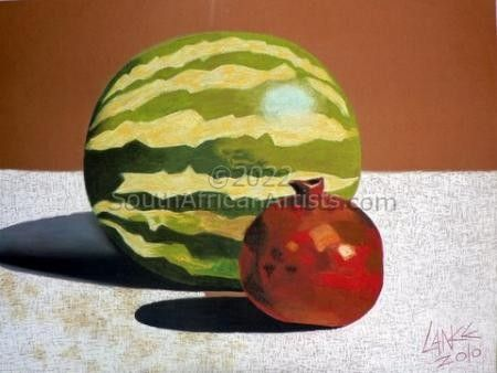 """Watermelon and Pomegranate"""